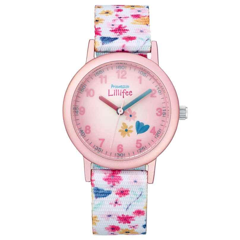 Prinzessin Lillifee 2031758 Kinder-Armbanduhr Blumen 4056867028806