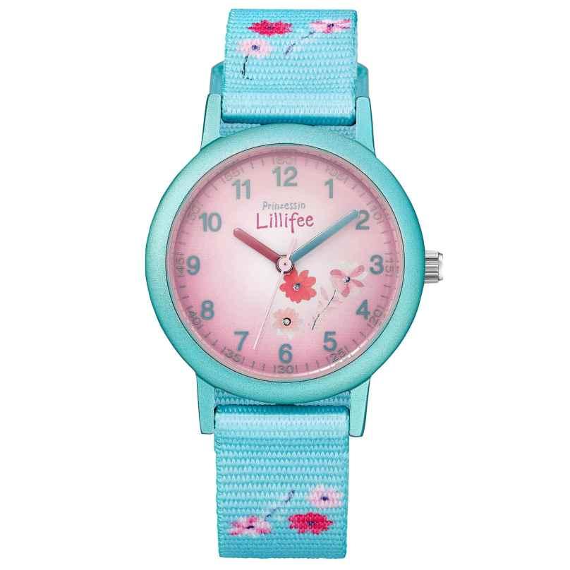 Prinzessin Lillifee 2031757 Mädchen-Uhr Blume 4056867028813