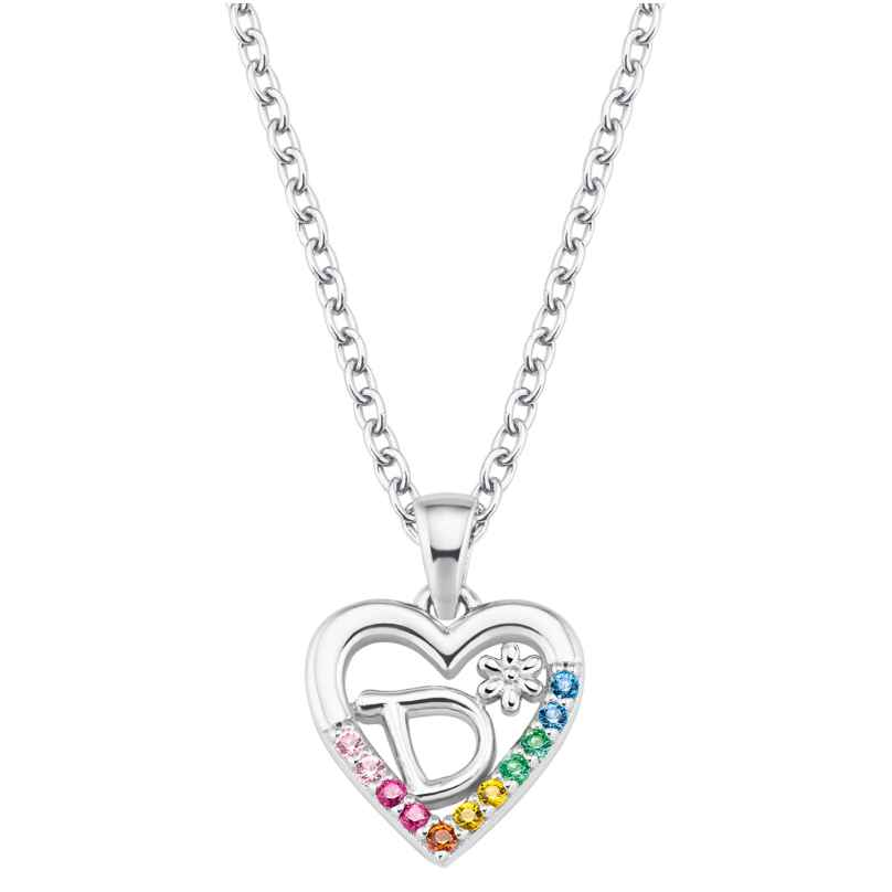 Prinzessin Lillifee 2027879 Silver Necklace for Girls Heart D 4056867022095
