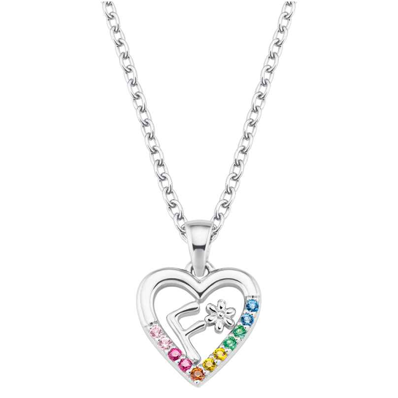 Prinzessin Lillifee 2027881 Silver Girls Necklace Heart F 4056867022118