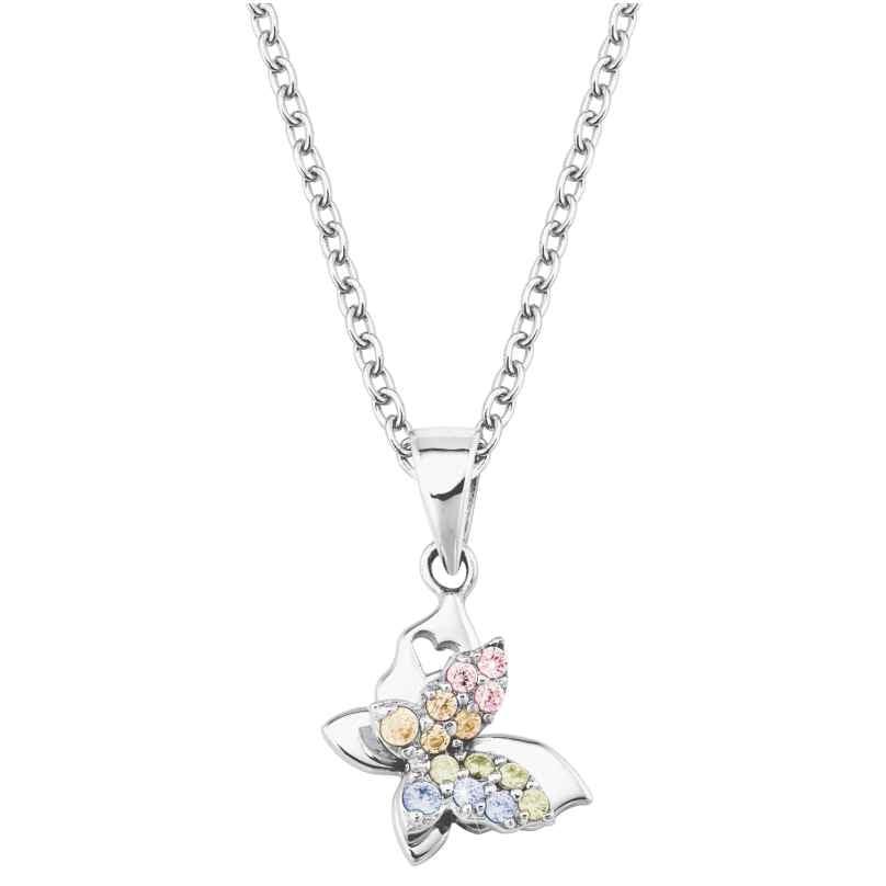 Prinzessin Lillifee 2027900 Silber Kinder-Halskette Schmetterling 4056867022309