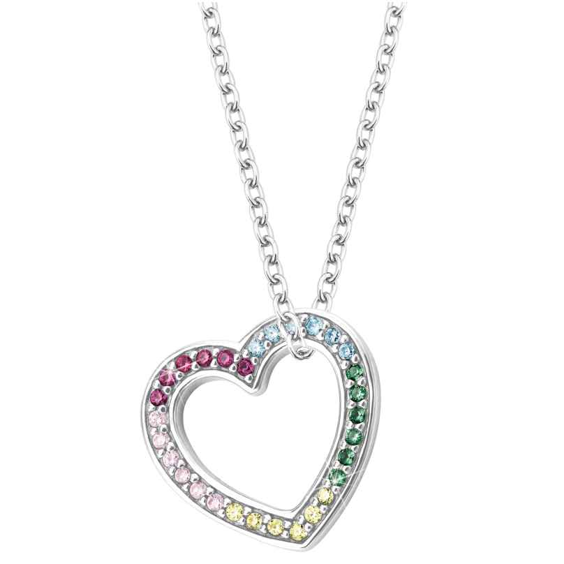 Prinzessin Lillifee 2027903 Silver Kids Necklace Heart 4056867022330
