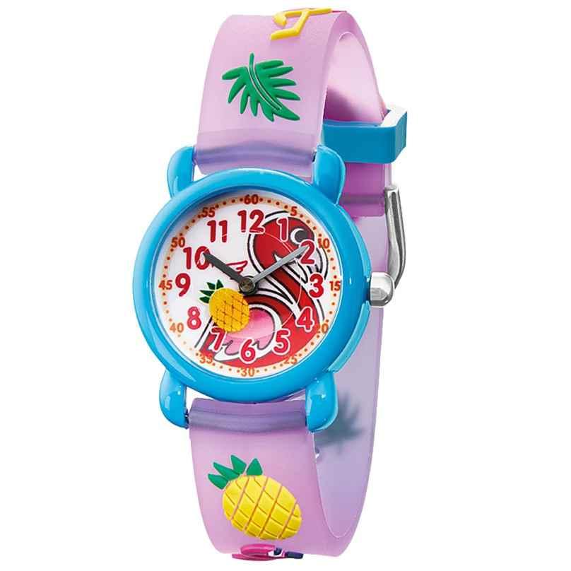 Herzengel HEWA-FLAMINGO Kinderuhr Flamingo Multicolor 4260645862456