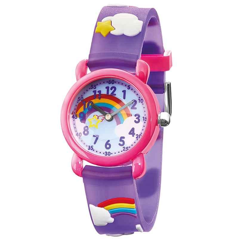 Herzengel HEWA-RAINBOW Kinderuhr Regenbogen Multicolor 4260645862470
