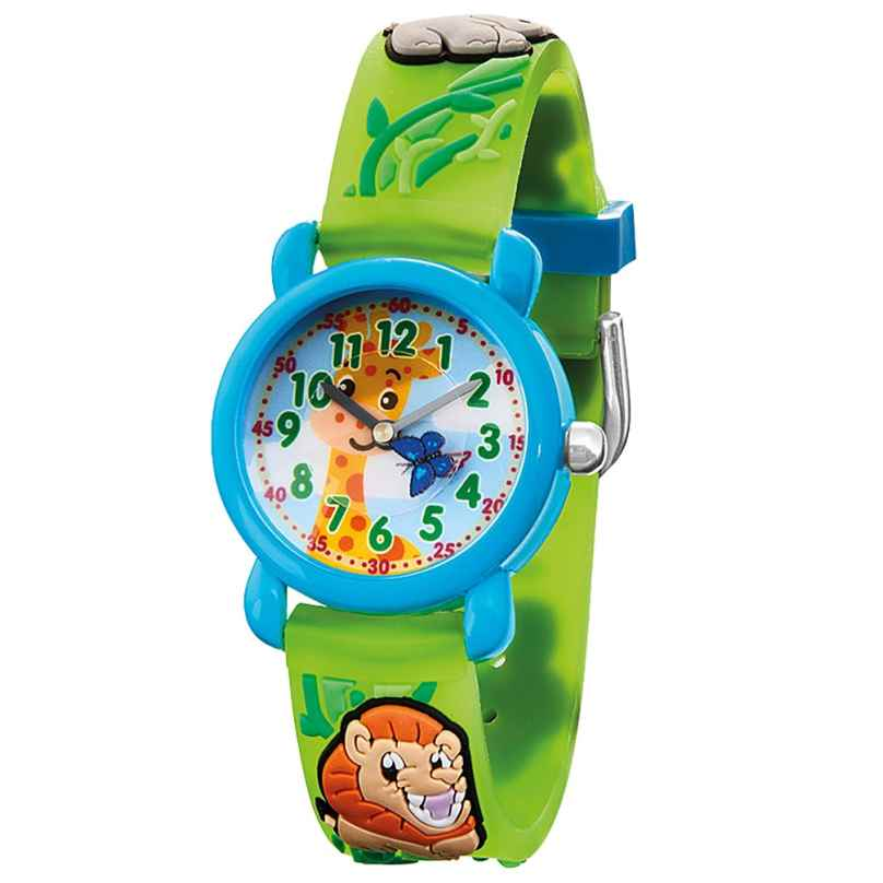 Herzengel HEWA-ZOO Kinderuhr Zoo Multicolor 4260645862500
