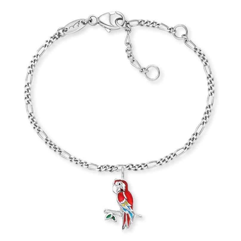 Herzengel HEB-PARROT Kinder-Armband Papagei Silber 4260645863859