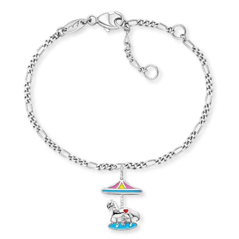 Herzengel HEB-CAROUSEL Silber-Armband für Kinder Karussell 4260645863828