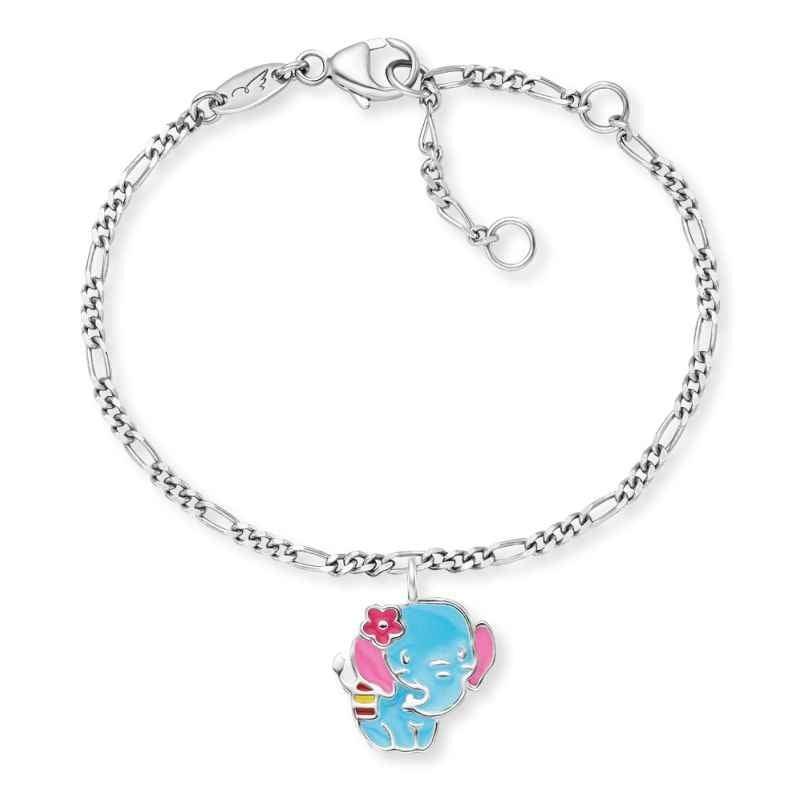 Herzengel HEB-ELEPHANT Kinder-Armband Elefant Silber 4260645863804