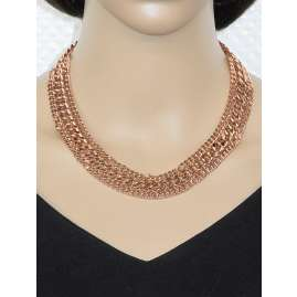 TOV Essentials 1259.004 3 Types of Chains Necklace