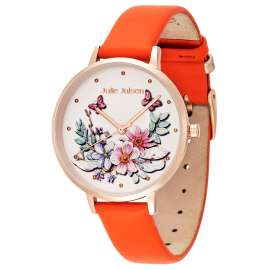 Julie Julsen JJW1199RGM Women's Watch Gift Set Secret Garden Peach
