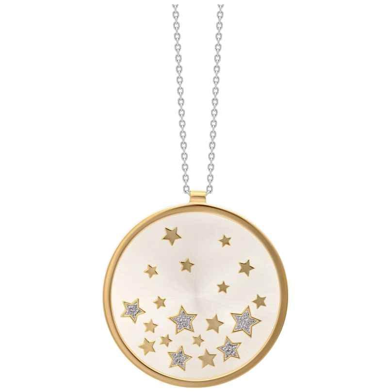 Julie Julsen JJNE0627.3 Damen-Halskette mit Anhänger Stars Silber 925 9120098051973