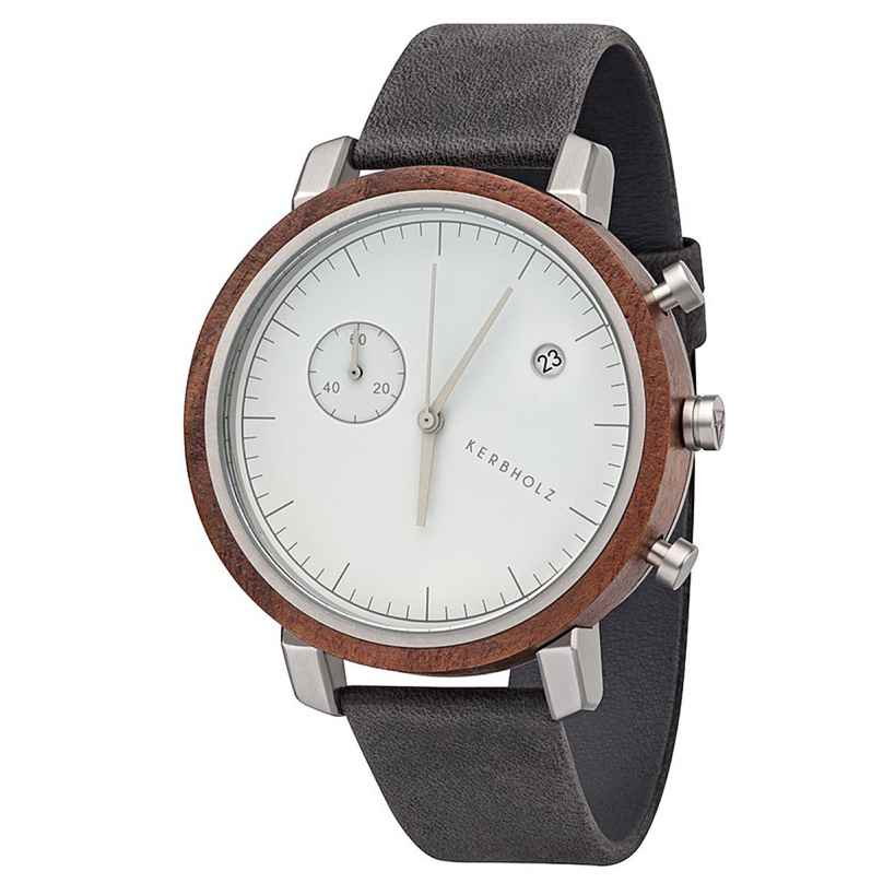 Kerbholz Herrenuhr Chronograph Franz Walnuss/Anthrazit 4251240403977