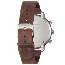 Kerbholz Mens Watch Chronograph Franz Walnut/Tabacco