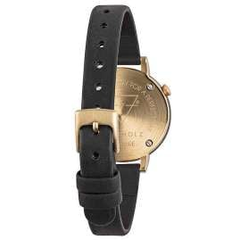 Kerbholz Wooden Ladies Watch Luise Sandalwood Midnight Black