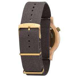 Kerbholz Men's Wristwatch Walter Maple/Dark Grey