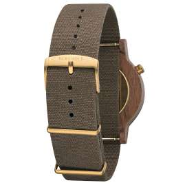 Kerbholz Men's Watch Walter Walnut/Olive