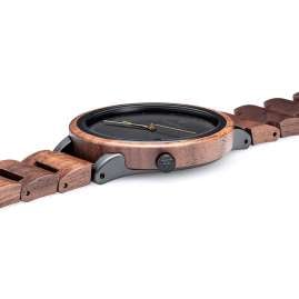 Kerbholz Men's Wood Watch Lamprecht Walnut/Gold