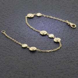 Elaine Firenze 1113085 Damen-Armband Gold 585 / 14K matt/poliert