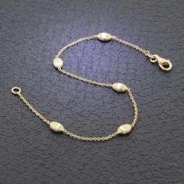 Elaine Firenze 223857 Damen-Armband Gold 585 / 14K matt/poliert