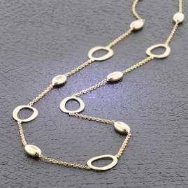 Elaine Firenze 222700C Collier für Damen Gold 585 / 14K
