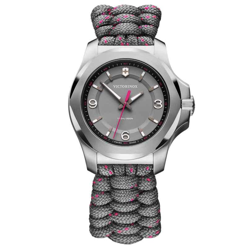 Victorinox 241920 Damenuhr I.N.O.X V Grau/Pink 7611160121875