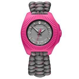 Victorinox 241920 Damenuhr I.N.O.X V Grau/Pink