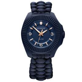 Victorinox 241955 Damen-Armbanduhr I.N.O.X V Blau/Rosé