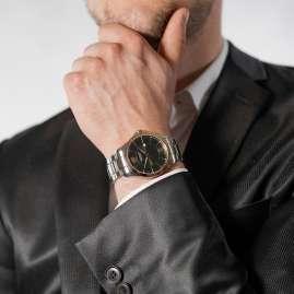 Victorinox 241913 Herren-Armbanduhr Alliance Zweifarbig/Grün