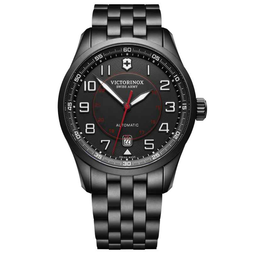 Victorinox 241740 Herren-Automatikuhr Airboss Mechanical Black Edition 7630000725202