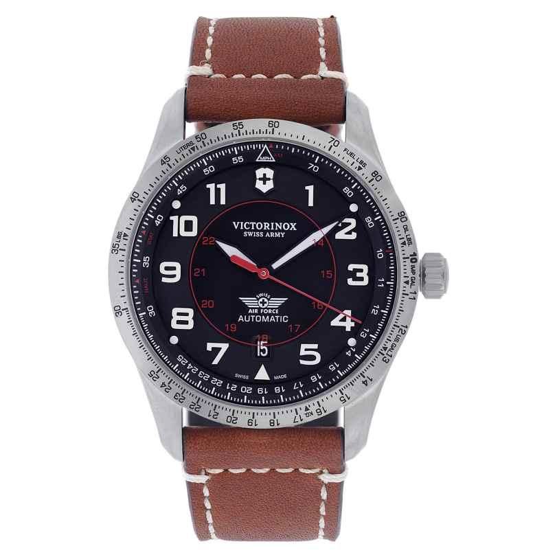 Victorinox 241973 Herrenuhr Automatic Airboss Braun/Schwarz 7611160199874