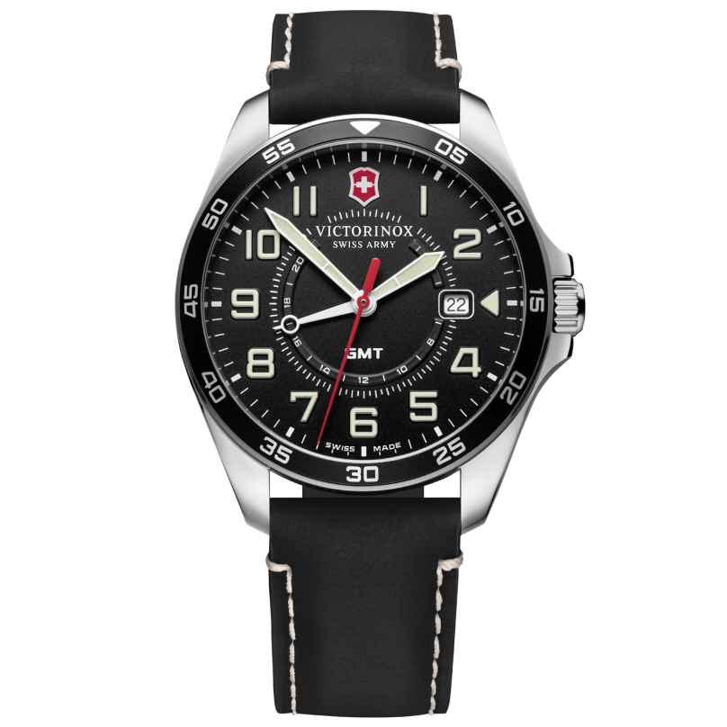 Victorinox 241895 Herren-Armbanduhr FieldForce GMT schwarz 7611160090720