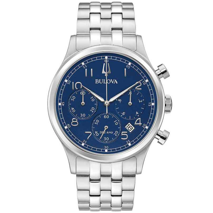 Bulova 96B358 Men's Watch Chronograph Classic Blue 0042429586390