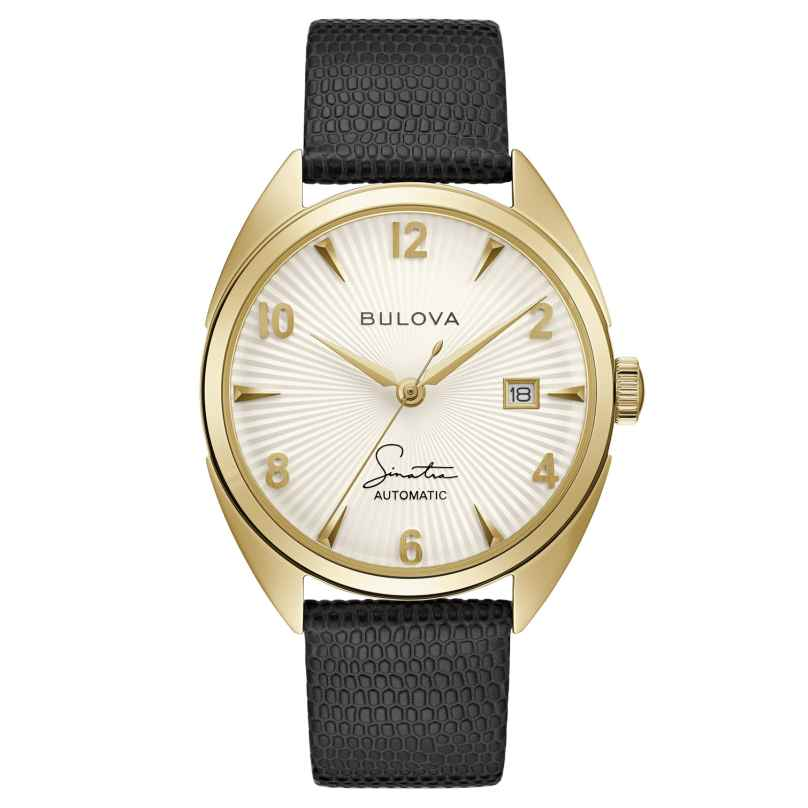Bulova 97B196 Herrenuhr Automatik Fly Me To The Moon Schwarz/Goldfarben 7613077585290