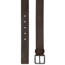 Boss 50385597-202 Mens Belt Jipyo Dark Brown