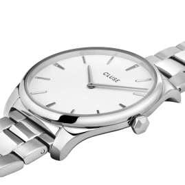 Cluse CW0101212003 Damenuhr Féroce Stahl/Weiß