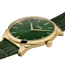Cluse CW0101212006 Ladies' Watch Féroce Gold Tone / Green