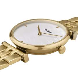 Cluse CW0101208014 Ladies' Watch Triomphe Gold Tone / Mother-of-Pearl