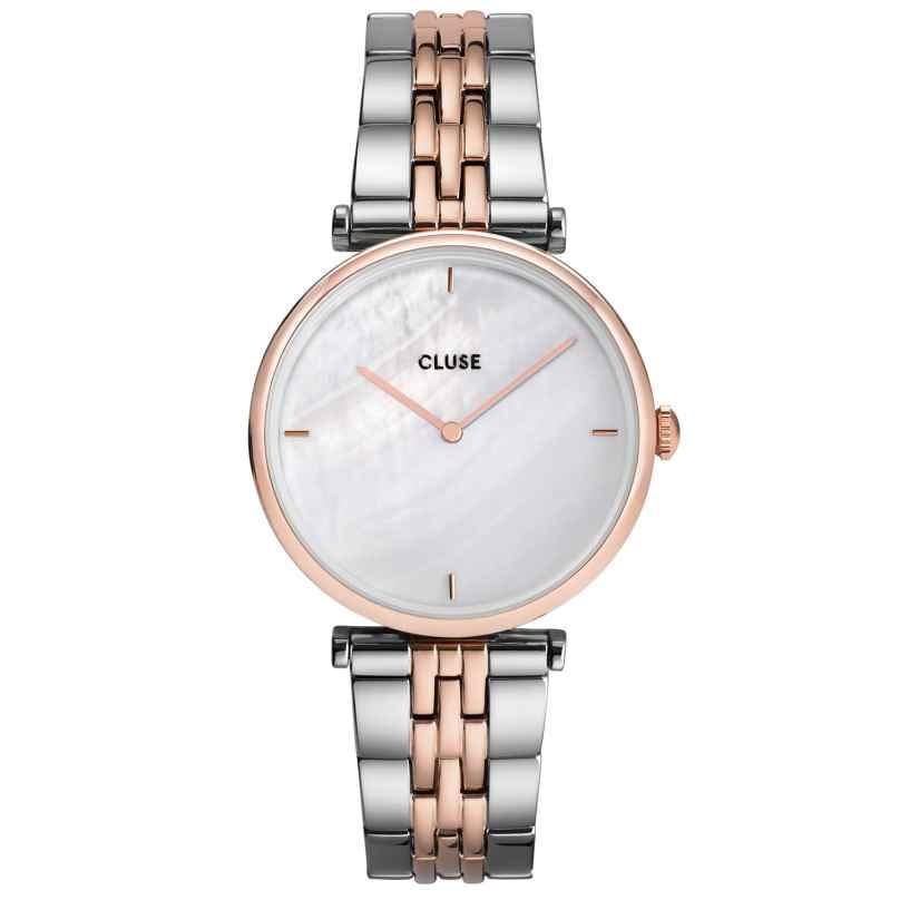 Cluse CW0101208015 Damen-Armbanduhr Triomphe Bicolor/Perlmutt 8719743376106