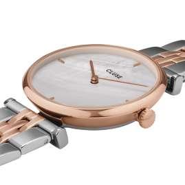Cluse CW0101208015 Damen-Armbanduhr Triomphe Bicolor/Perlmutt