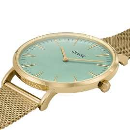 Cluse CW0101201027 Women's Wristwatch La Bohème Gold Tone / Turquoise
