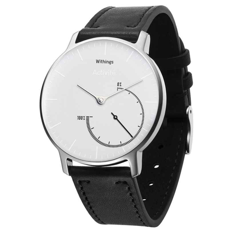 Withings HWA01 Activité Steel White Inflight Aktivitätstracker mit Tauschband 3700546701795