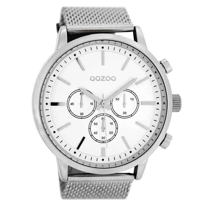 Oozoo C8260 Herren-Armbanduhr Weiß 48 mm 9879012510613