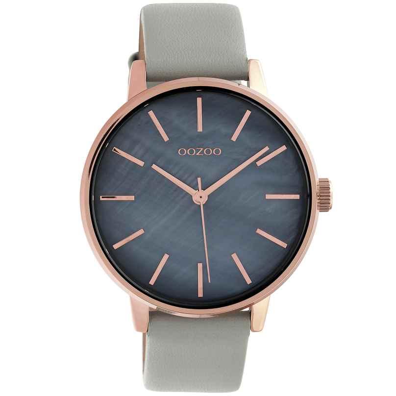 Oozoo C10116 Damen-Armbanduhr Dunkelgrau/Hellgrau 42 mm 8719929011371