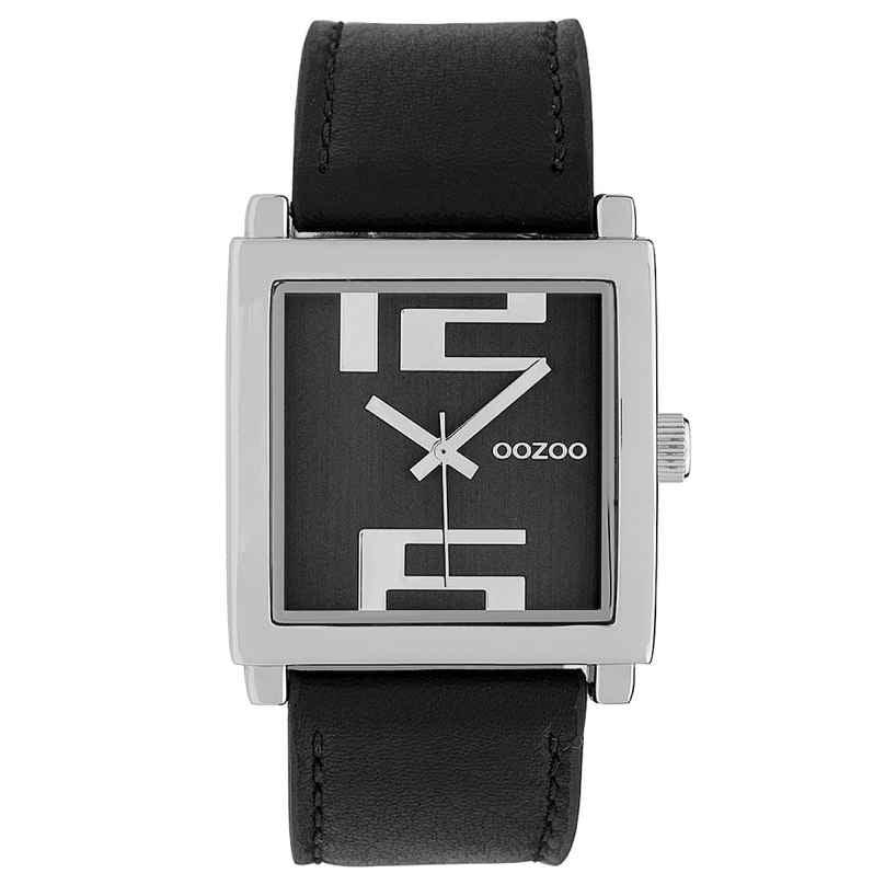Oozoo C9739 Damenuhr Schwarz 34 mm 8719929008623