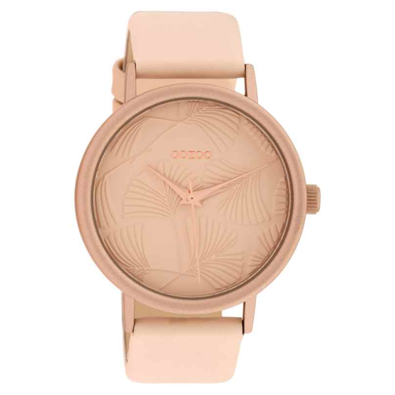 Oozoo C10390 Ladies' Watch with Leather Strap 42 mm Soft Pink 8719929014990