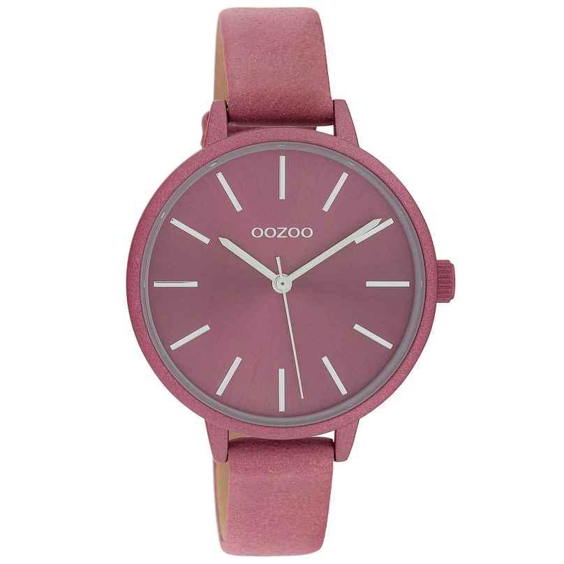 Oozoo C10258 Ladies' Watch Marine Pink Ø 36 mm 8719929017199