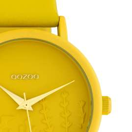 Oozoo C10602 Ladies' Watch with Leather Strap Yellow Summer Vibes Ø 36 mm