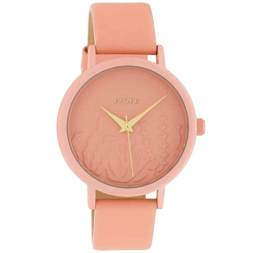 Oozoo C10604 Ladies' Watch with Leather Strap Soft Pink Summer Vibes Ø 36 mm 8719929018684