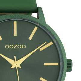 Oozoo C10616 Ladies' Watch with Leather Strap Green Quartz 42 mm