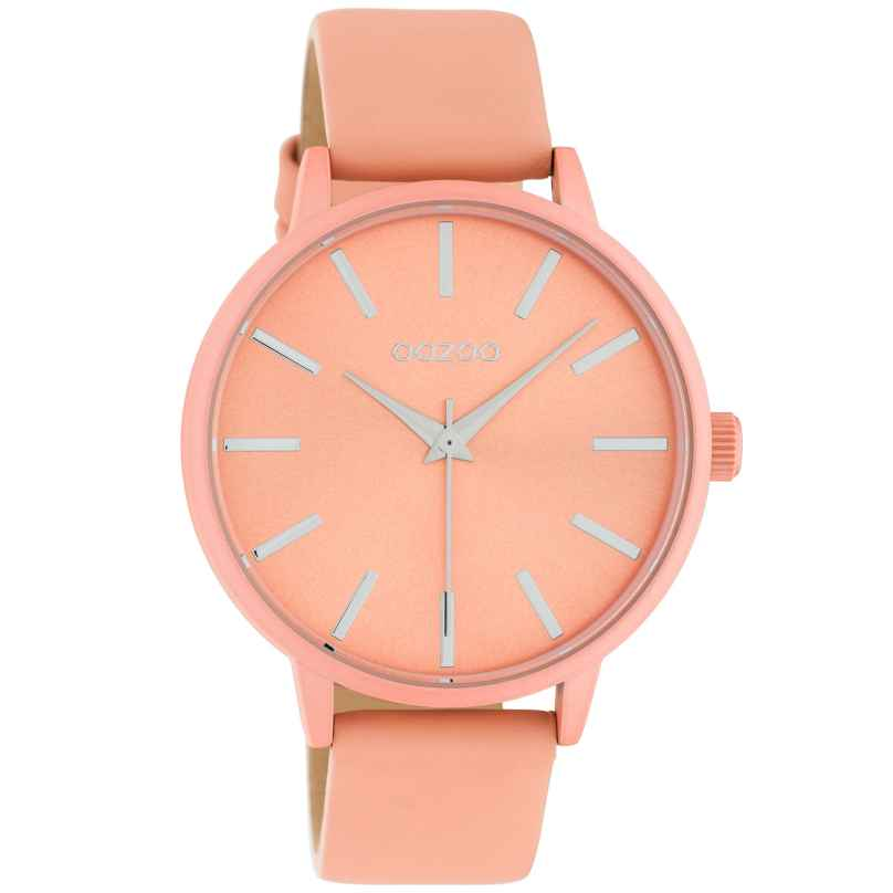 Oozoo C10617 Women's Watch with Leather Strap Soft Pink 42 mm 8719929018813